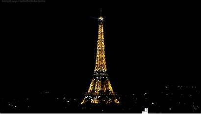 Eiffel Tower Splendid Clock Paris Lights Memory