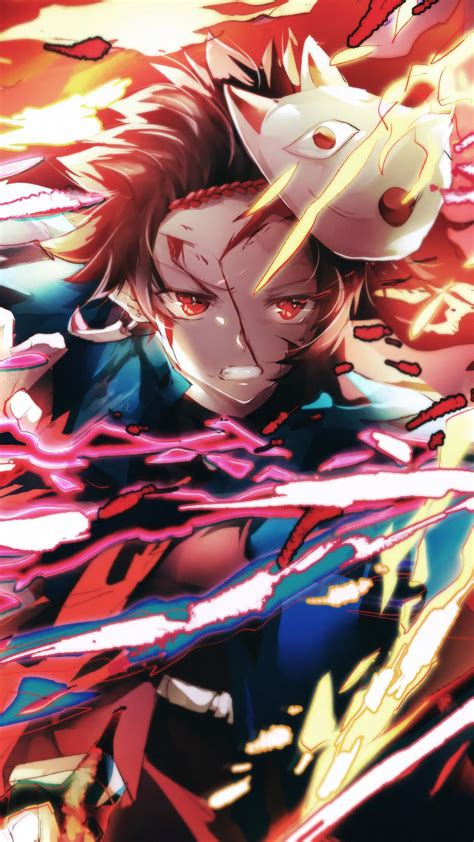 demon slayer tanjiro kamado hd wallpaper  anime