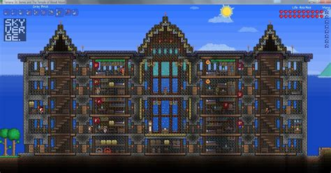 garage with living space skyverge terraria structures five houses
