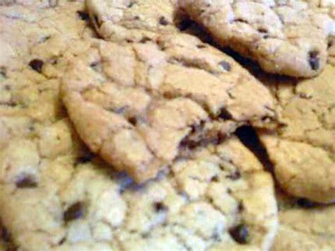 recette de cookies pate de speculoos et p 233 pites de chocolat