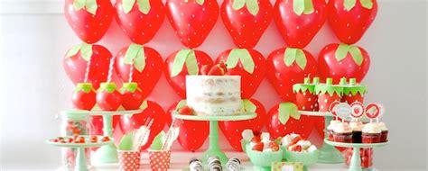 karas party ideas berry sweet strawberry valentines day