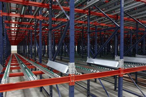 pallet flow rack light medium  heavy duty load bearing