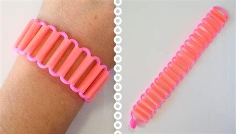 comment faire des bracelets élastiques diy comment faire un bracelet avec des pailles paracord cr 233 acord