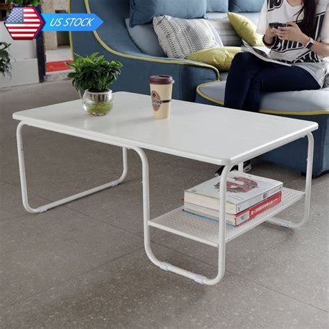This round coffee table exudes a modern vibe that complements global eclectic to urban spaces. Rectangular Coffee Table End Table Side Table Living Room ...