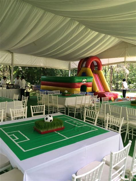 ideas  soccer party themes  pinterest