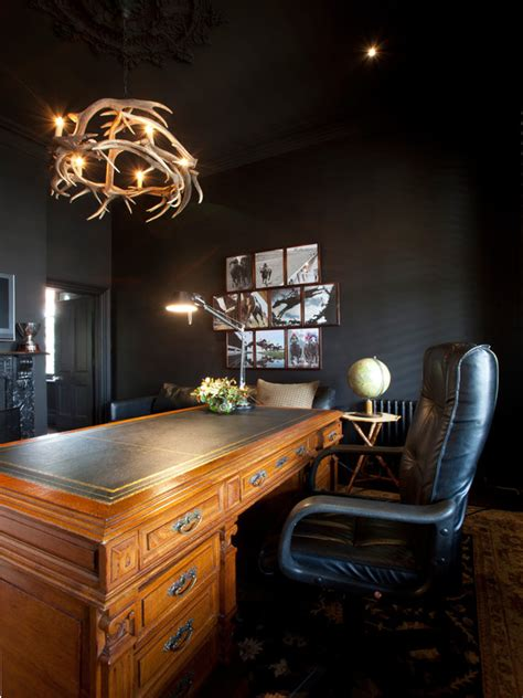 masculine office decoration ideas  men