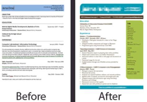 Eye Catching Resume by Design An Eye Catching Resume By Bricklit