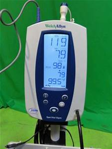 Used Welch Allyn Spot Vital Signs Bp Monitor For Sale