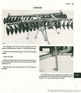John Deere 1640 Tractor Service Manual