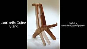 Max Wood Designs new Jackknife Guitar Stand - YouTube