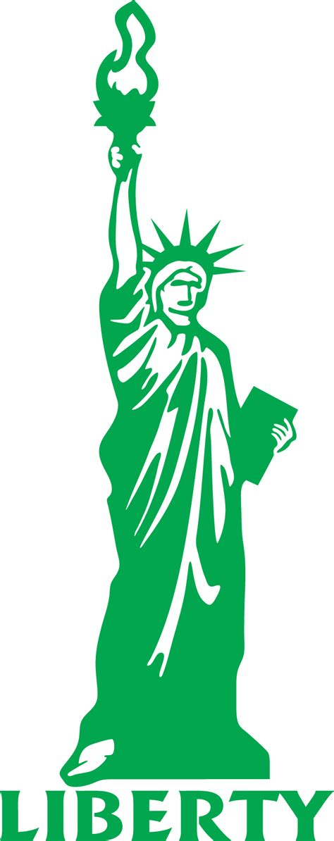 Statue Of Liberty Clipart Outline Of Statue Of Liberty Clipart Best