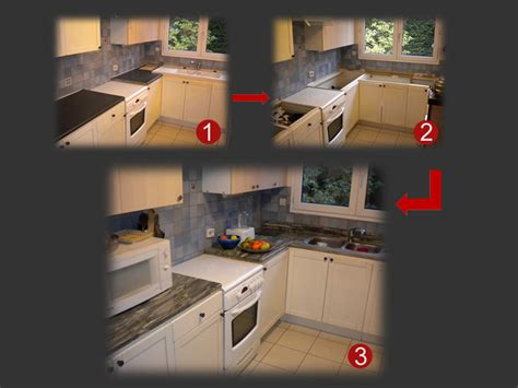 cuisine renovation plan de travail rénovez la cuisine en ne changeant que le plan de travail