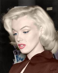 1000+ images about MARILYN MONROE COLOR PICTURES on ...