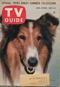 Lassie TV Guide Covers