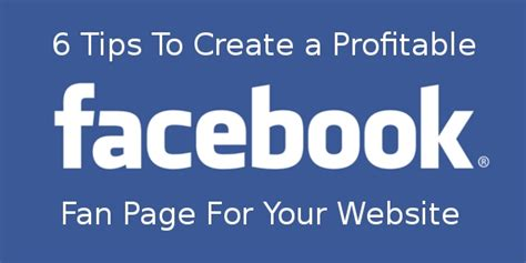 create a fan page on facebook without a profile how to create a facebook fan page for your website