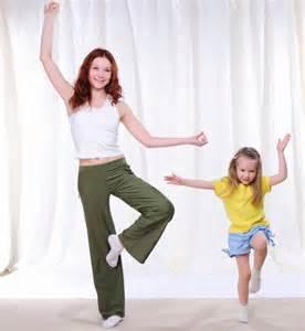 Yoga Tree Pose Toddlers