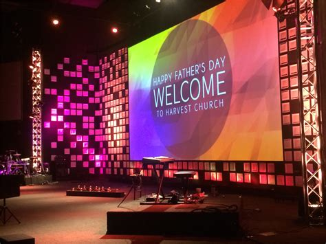 platelets church stage design ideas