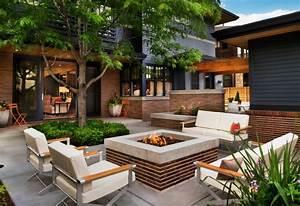 feuerstelle im garten bauen 49 ideen und bilder With katzennetz balkon mit hotel can garden beach side