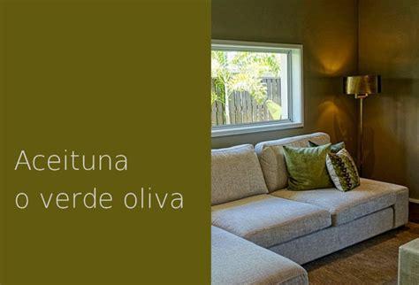 color aceituna  verde oliva casa  color
