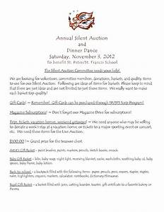 silent auction basket ideas girl stuff pinterest With silent auction catalog template