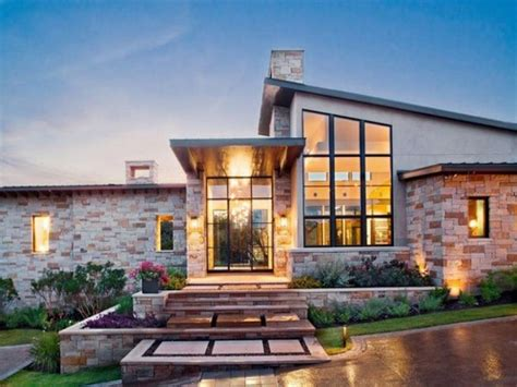 Modern Houses : Rustic Charm Of Best Texas Hill Country Home Plans