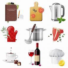 Exquisite Kitchen Supplies Vector  Free Vector Graphic