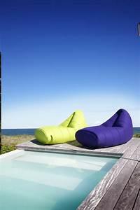Pouf De Jardin : salon de jardin bains de soleil et poufs 20 meubles lounge ~ Teatrodelosmanantiales.com Idées de Décoration