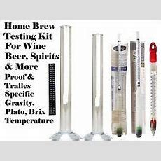 Hydrometer Beer & Wine Making Ebay