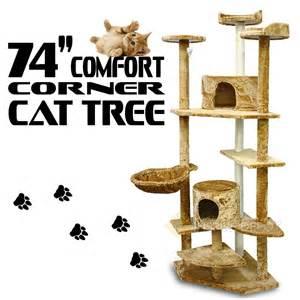 corner cat tree cat tree furniture post house condo scratching kitten