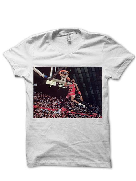 michael jordan classic dunk  shirt basketball shirts nba