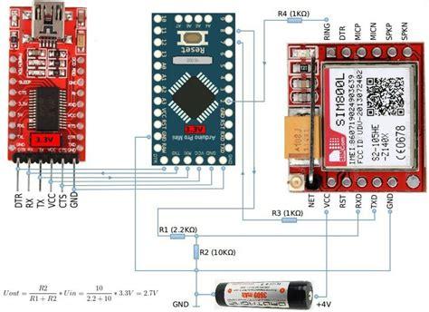 connection arduino nano siml arduino pinterest