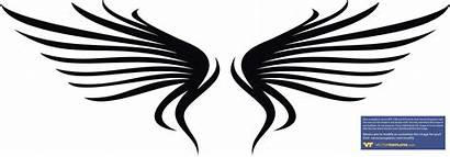 Wings Vector Angel Abstract Simple Clipart Designs