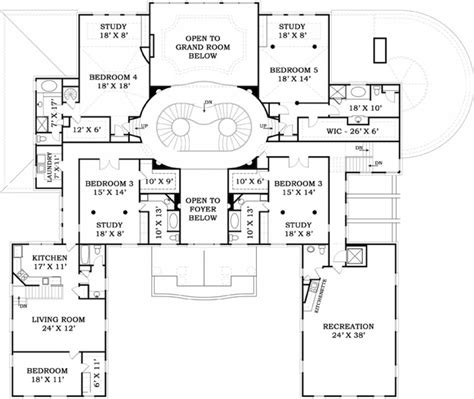 Mansion West Floor Plan by Mansion House Plans Archival Designs Cottage House Plans