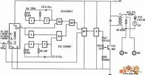 The Elementary Diagram Of Electronic Biological Wave Physical Circuit - Medical