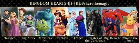 kingdom hearts 3 media markt media kh3 disney worlds so far kingdomhearts