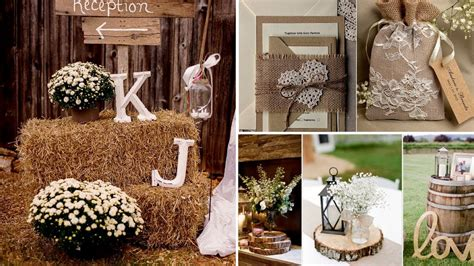 40 elegant rustic or barn chic party or wedding diy decor