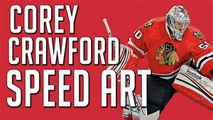 Corey Crawford Wallpaper Speed-Art - YouTube