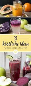 Obst Und Gemüse Entsafter Test : die besten 25 entsafter rezepte ideen auf pinterest ~ Michelbontemps.com Haus und Dekorationen