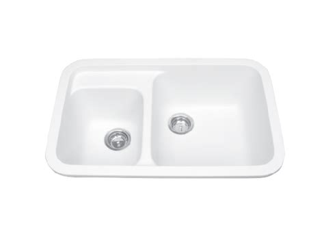 solid surface sinks kitchen meridian solid surface 104 uneven bowl integral 5606