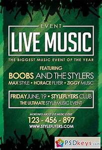 Poster Template » Music Event Poster Templates Free ...