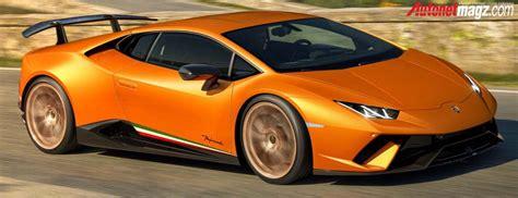Gambar Mobil Lamborghini Huracan by 2018 Lamborghini Huracan Performante 0 Autonetmagz