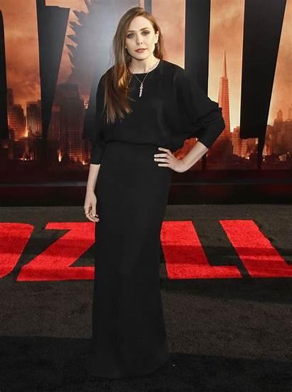 Olsen Elizabeth Godzilla Premiere Hollywood Taylor Filmofilia