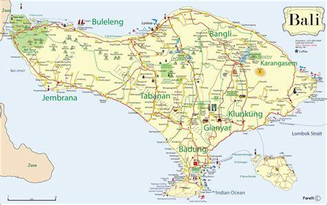 map  bali scd travelbali  bali map travel