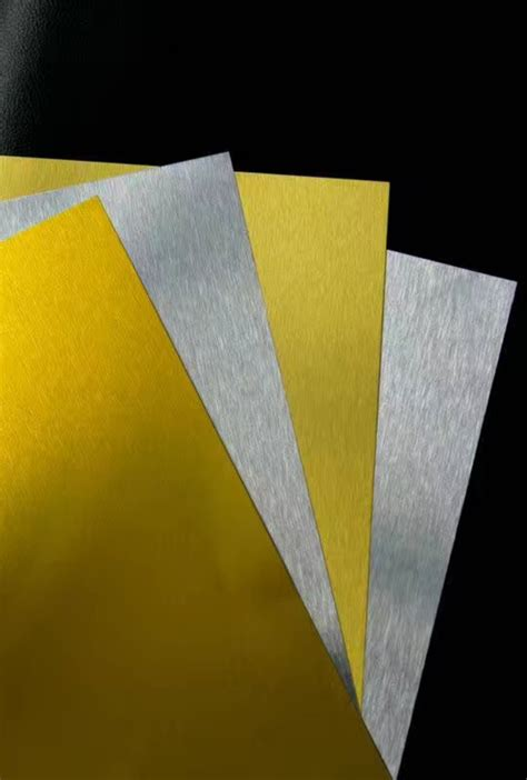 brushed aluminum sheets anodized mirror finished haomei