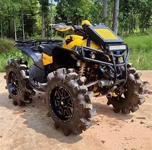 Atv Quad 4x4 : can am 4x4 mud bog custom quad atv 4 wheels motorcycle ~ Jslefanu.com Haus und Dekorationen