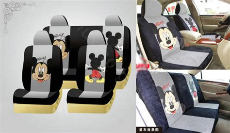 The Gallery For --> Mickey Mouse Car Seat Cover