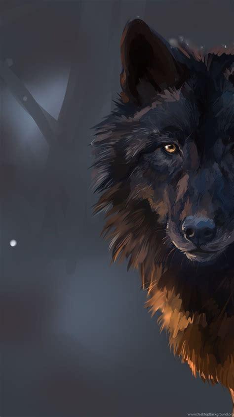 Digital Wolf Wallpaper by Wolf Wallpapers Desktop Background