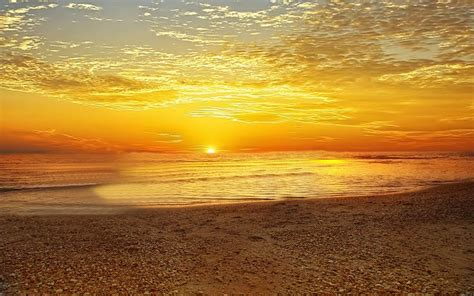 Beach Sunrise Backgrounds  Morning Sunrise Beach Beauty