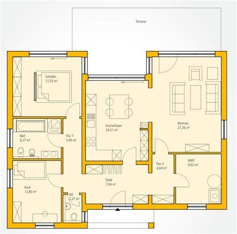 Moderne Bungalows Grundrisse by Grundriss Grundrisse Bauplan Haus Grundriss Bungalow