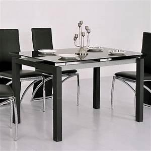 Table A Manger En Verre Pas Cher : table a manger en verre extensible ~ Melissatoandfro.com Idées de Décoration